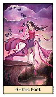 The Fool Tarot Card - Crystal Visions Tarot Deck