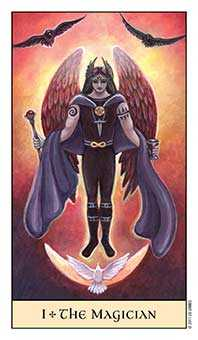 The Magician Tarot Card - Crystal Visions Tarot Deck