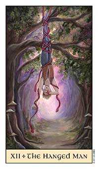 The Hanged Man Tarot Card - Crystal Visions Tarot Deck
