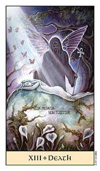 Death Tarot Card - Crystal Visions Tarot Deck