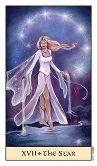 The Star Tarot Card - Crystal Visions Tarot Deck