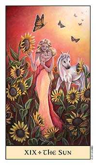 Illusion Tarot Card - Crystal Visions Tarot Deck