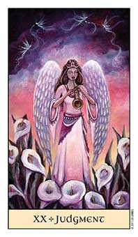 The Judgment Tarot Card - Crystal Visions Tarot Deck