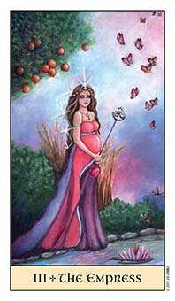 The Empress Tarot Card - Crystal Visions Tarot Deck