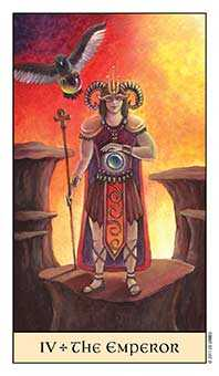 The Emperor Tarot Card - Crystal Visions Tarot Deck