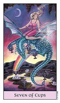 Seven of Cups Tarot Card - Crystal Visions Tarot Deck