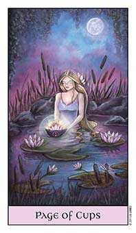 Page of Hearts Tarot Card - Crystal Visions Tarot Deck