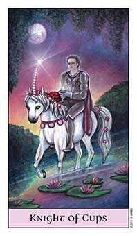 Knight of Water Tarot Card - Crystal Visions Tarot Deck