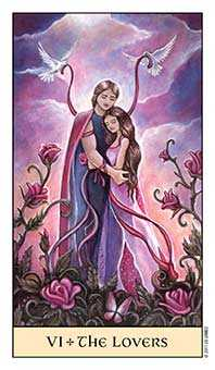 The Lovers Tarot Card - Crystal Visions Tarot Deck