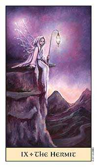 The Hermit Tarot Card - Crystal Visions Tarot Deck