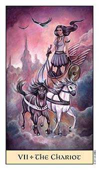 The Chariot Tarot Card - Crystal Visions Tarot Deck