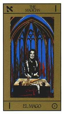 The Magus Tarot Card - Salvador Dali Tarot Deck