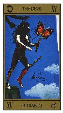 The Devil Tarot Card - Salvador Dali Tarot Deck