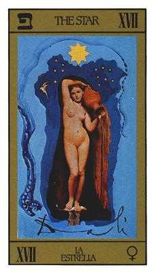 The Star Tarot Card - Salvador Dali Tarot Deck
