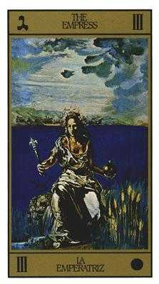 The Empress Tarot Card - Salvador Dali Tarot Deck