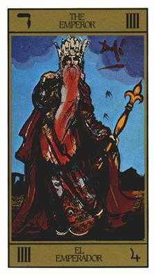 The Emperor Tarot Card - Salvador Dali Tarot Deck