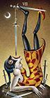 deviant-moon - Seven of Swords