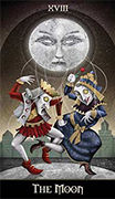 The Sun Tarot card in Deviant Moon deck