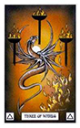 dragon - Three of Wands