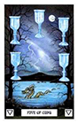 dragon - Five of Cups