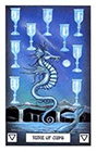 dragon - Nine of Cups