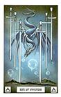 dragon - Six of Swords