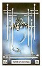 dragon - Nine of Swords