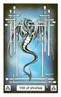 dragon - Ten of Swords
