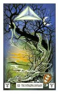 The Hanged Man Tarot Card - Dragon Tarot Deck