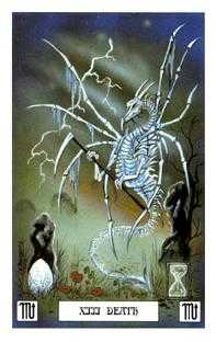 Death Tarot Card - Dragon Tarot Deck
