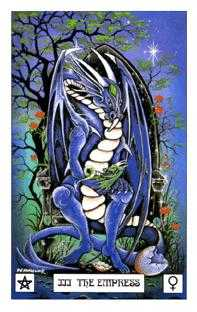 The Empress Tarot Card - Dragon Tarot Deck