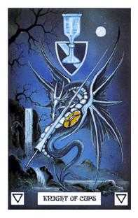 Knight of Cups Tarot Card - Dragon Tarot Deck