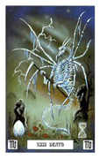 Death Tarot card in Dragon deck