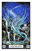 The Star Tarot card in Dragon Tarot deck