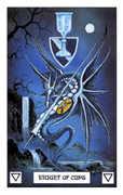 Knight of Cups Tarot card in Dragon Tarot deck