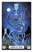 Queen of Cups Tarot card in Dragon Tarot deck