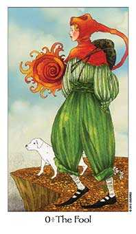 The Fool Tarot Card - Dreaming Way Tarot Deck