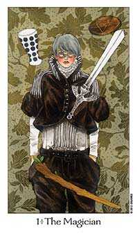 The Magus Tarot Card - Dreaming Way Tarot Deck