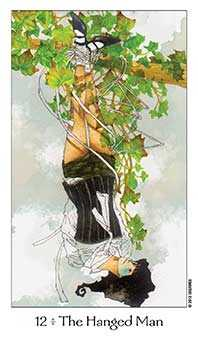 The Hanged Man Tarot Card - Dreaming Way Tarot Deck