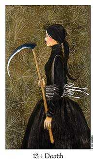 Death Tarot Card - Dreaming Way Tarot Deck