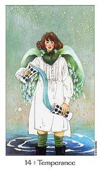 Temperance Tarot Card - Dreaming Way Tarot Deck