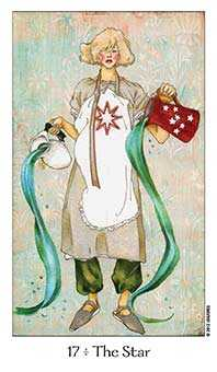 The Star Tarot Card - Dreaming Way Tarot Deck