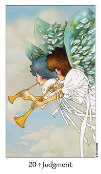 The Judgment Tarot Card - Dreaming Way Tarot Deck