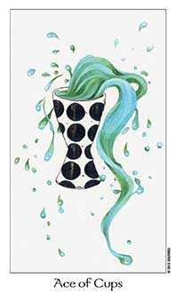 Ace of Cauldrons Tarot Card - Dreaming Way Tarot Deck