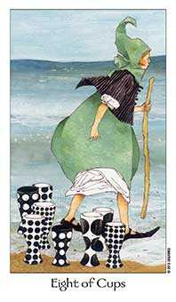 Eight of Cups Tarot Card - Dreaming Way Tarot Deck