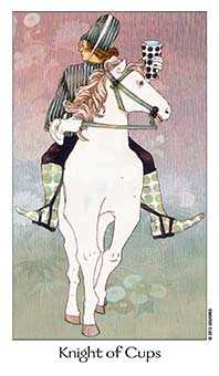 Knight of Cauldrons Tarot Card - Dreaming Way Tarot Deck