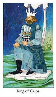 King of Ghosts Tarot Card - Dreaming Way Tarot Deck