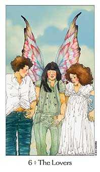The Lovers Tarot Card - Dreaming Way Tarot Deck