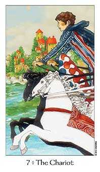 The Chariot Tarot Card - Dreaming Way Tarot Deck