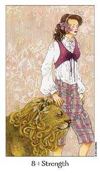 Strength Tarot Card - Dreaming Way Tarot Deck
